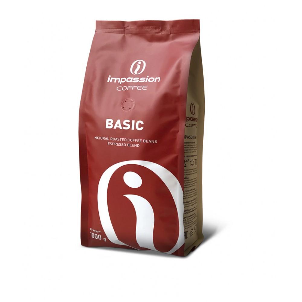 Кофе в зернах Impassion Basic 1кг